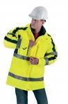Paaugstinātas redzamības darba apģērbi